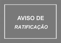 AVISO DE RETIFICAÇÃO Nº 001/2021 AO EDITAL DE LICITAÇÃO  PROCESSO Nº 005/2021  PREGÃO PRESENCIAL Nº 002/2021