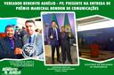 VEREADOR É CONVIDADO A EVENTO EM BRASILIA