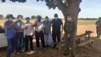 VEREADORES RECEPCIONAM DEPUTADOS EM NOSSO MUNICÍPIO E COBRAM MELHORIAS